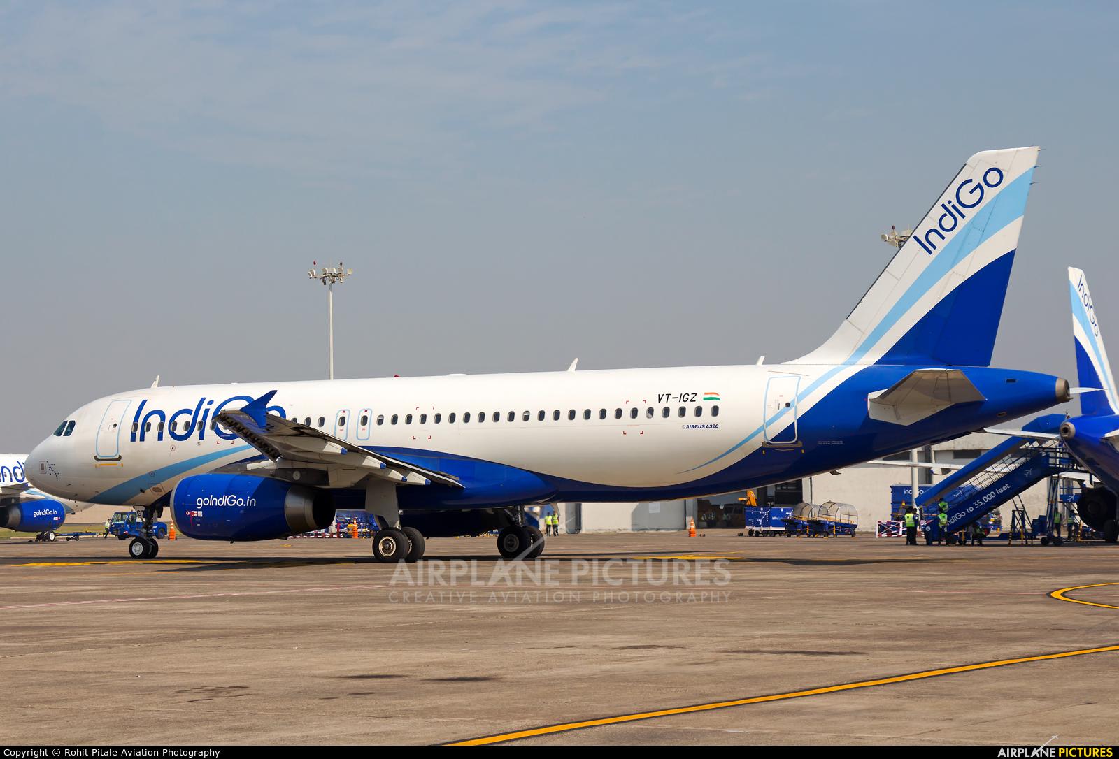 IndiGo VT-IGZ aircraft at Mumbai - Chhatrapati Shivaji Intl