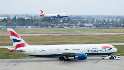 G-BNWX - British Airways Boeing 767-300