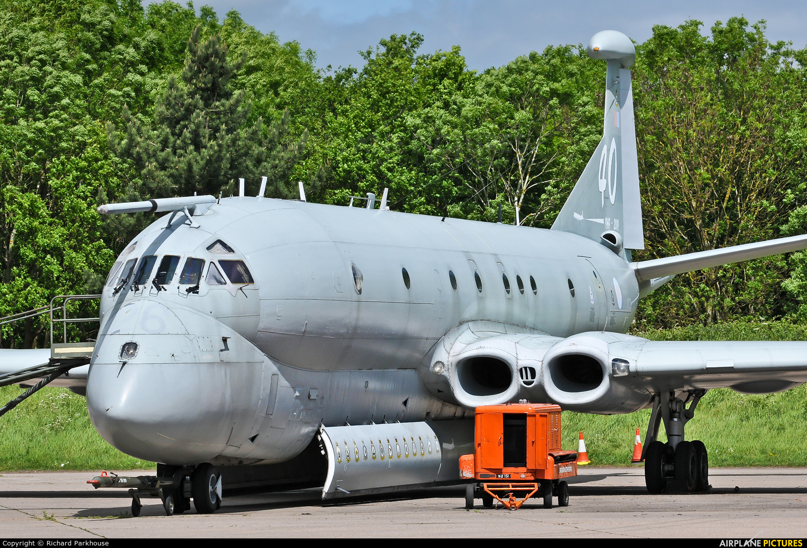 Royal Air Force XV226 aircraft at Bruntingthorpe