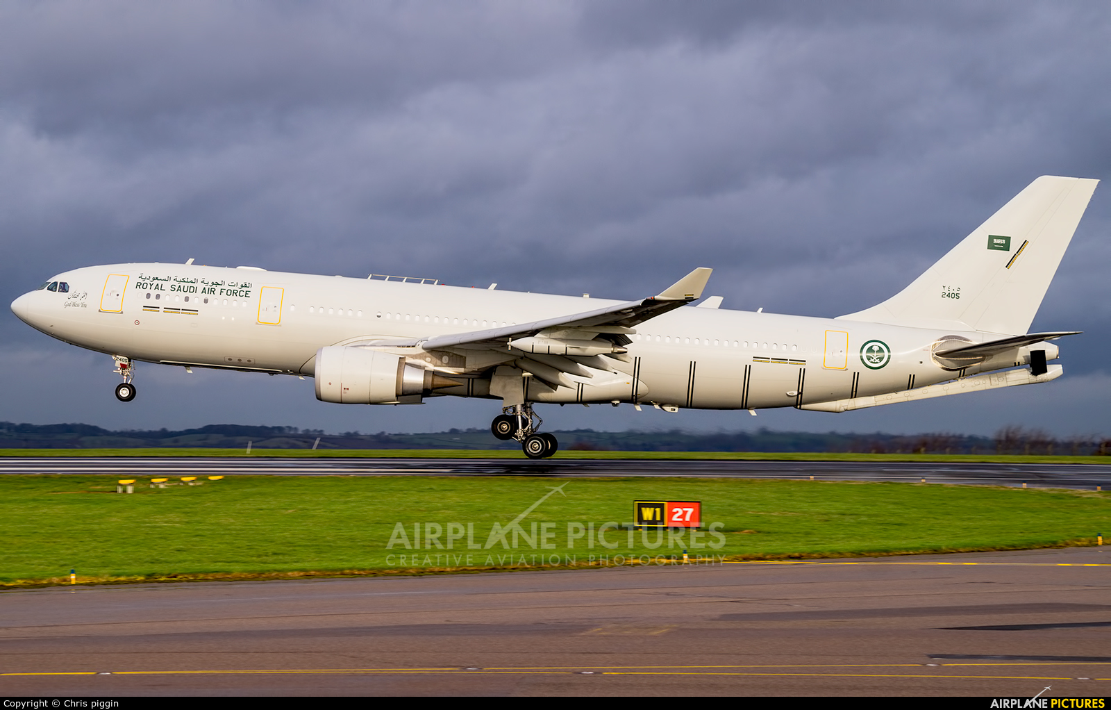 Saudi Arabia - Air Force 2405 aircraft at East Midlands