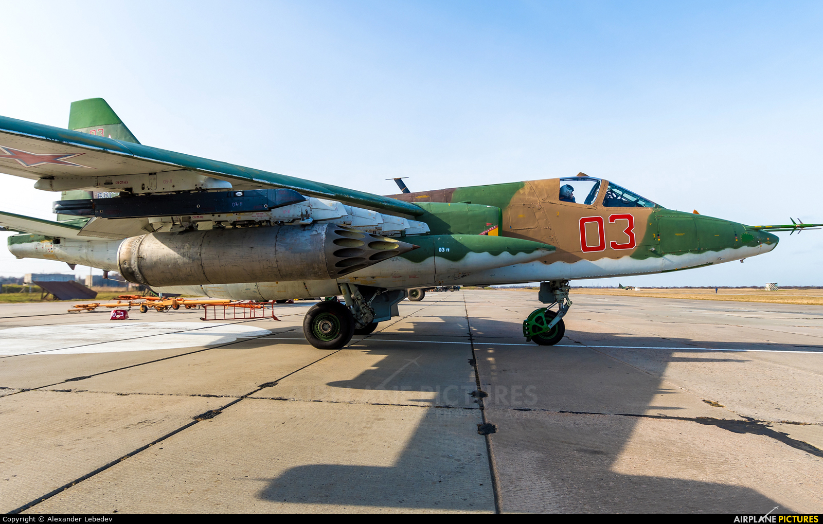 Russia - Air Force 03 aircraft at Primorsko-Akhtarsk