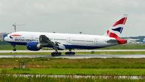 G-VIIB - British Airways Boeing 777-200 aircraft