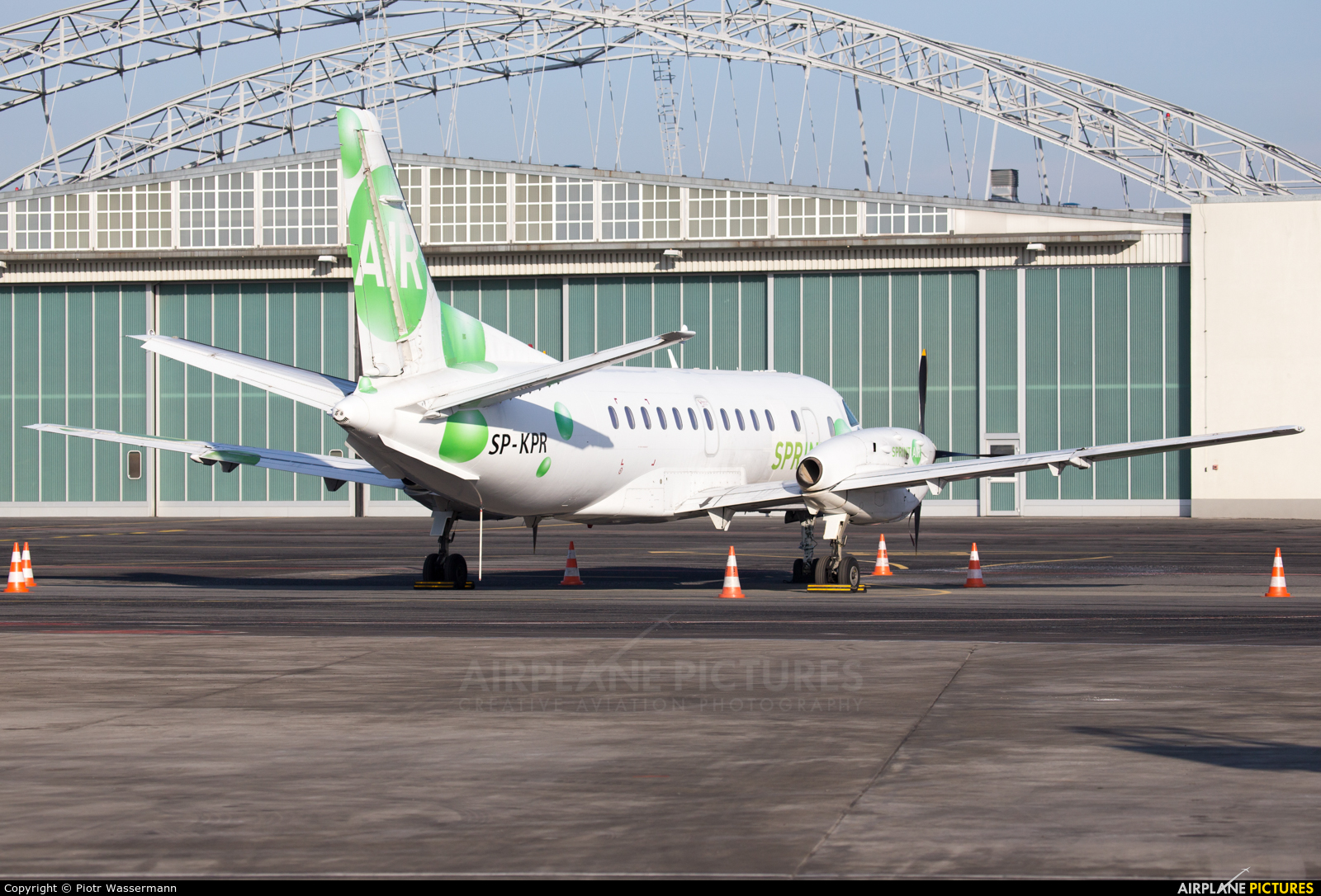 Sprint Air SP-KPR aircraft at Warsaw - Frederic Chopin