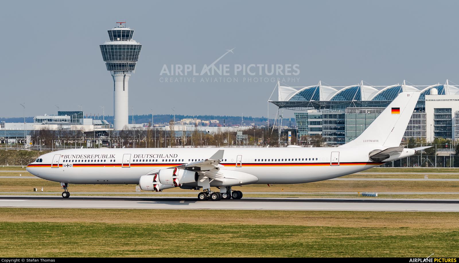 Germany - Air Force 16-01 aircraft at Munich
