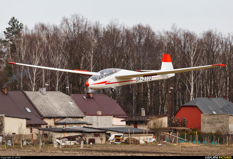 Private SP-2772 aircraft at Rybnik - Gotartowice