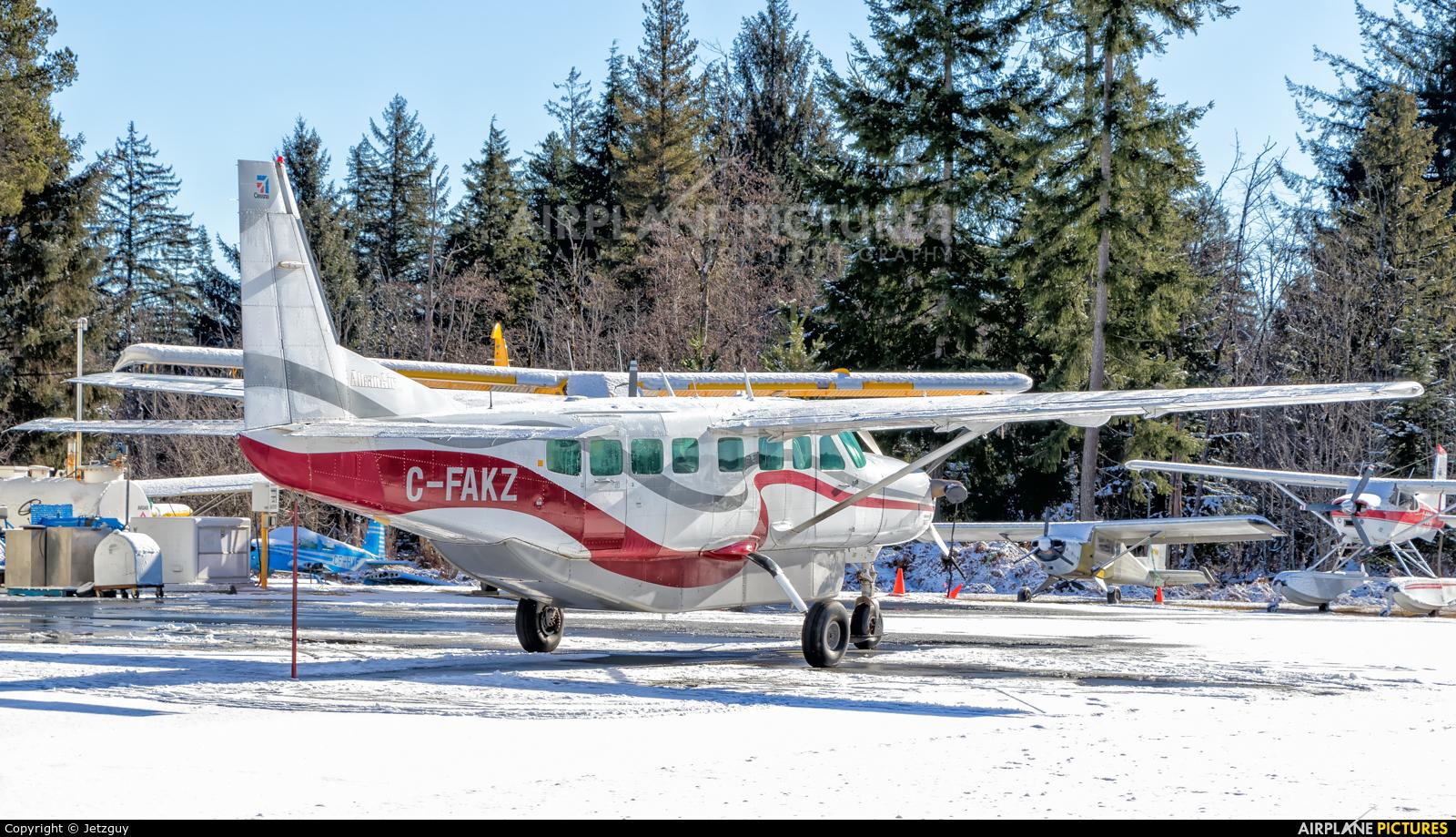 Alkan Air C-FAKZ aircraft at Campbell River Airport