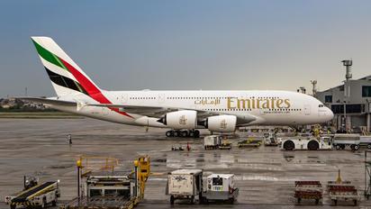 A6-EUS - Emirates Airlines Airbus A380
