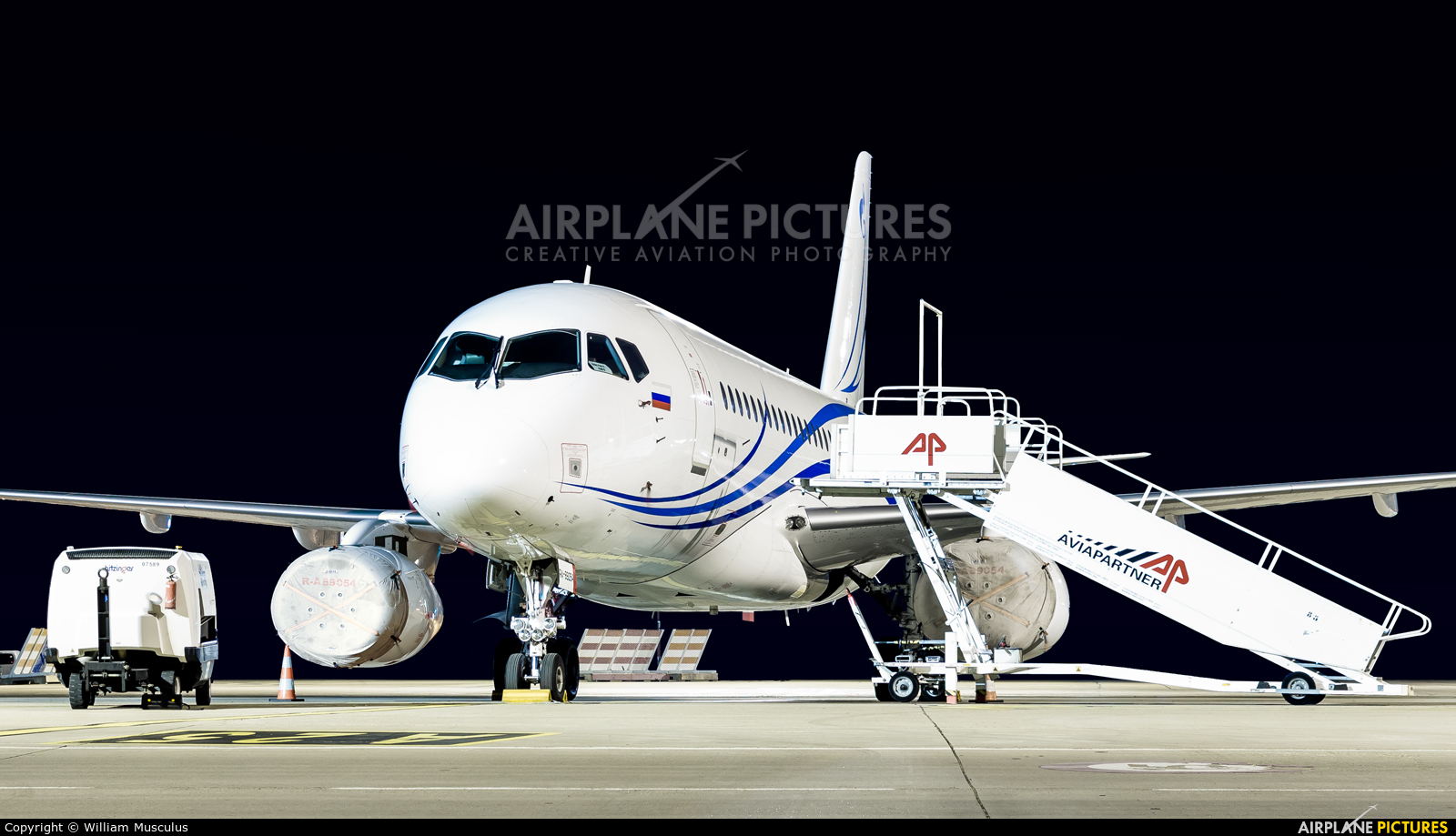 Gazpromavia RA-89054 aircraft at Strasbourg-Entzheim