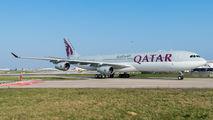 A7-AAH - Qatar Amiri Flight Airbus A340-300 aircraft