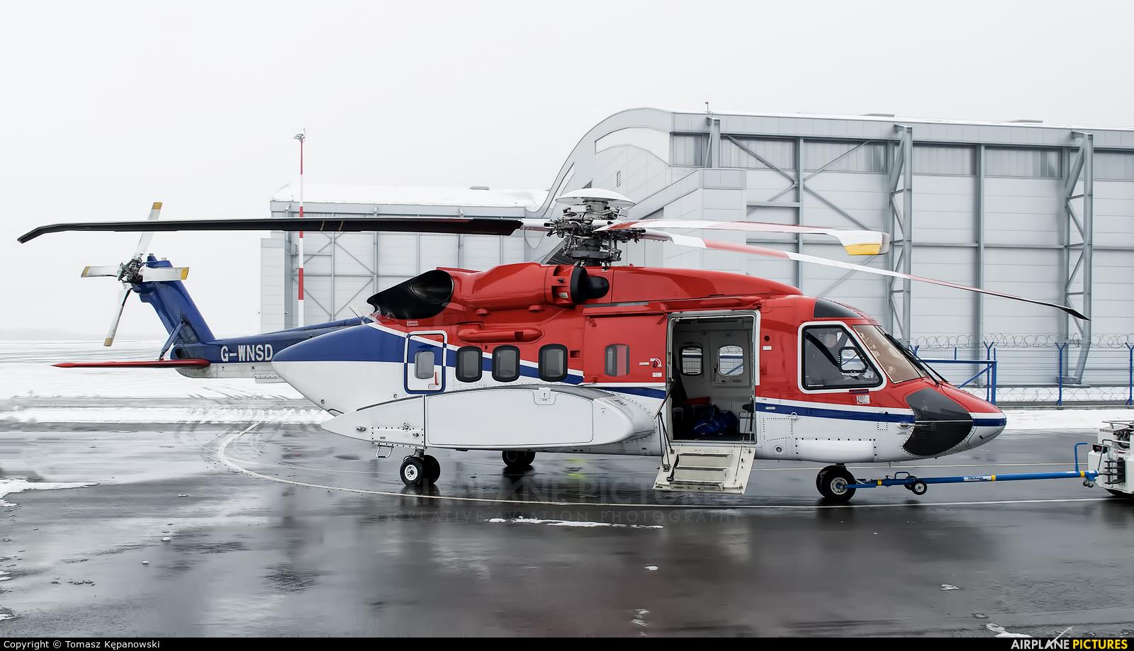 CHC Scotia G-WNSD aircraft at Rzeszów-Jasionka