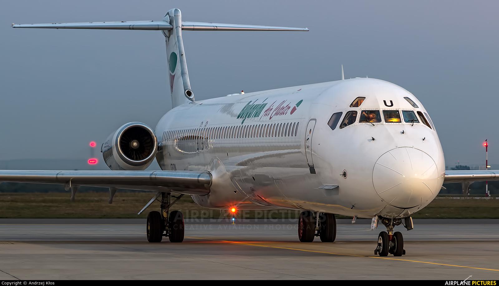 Bulgarian Air Charter LZ-LDU aircraft at Rzeszów-Jasionka