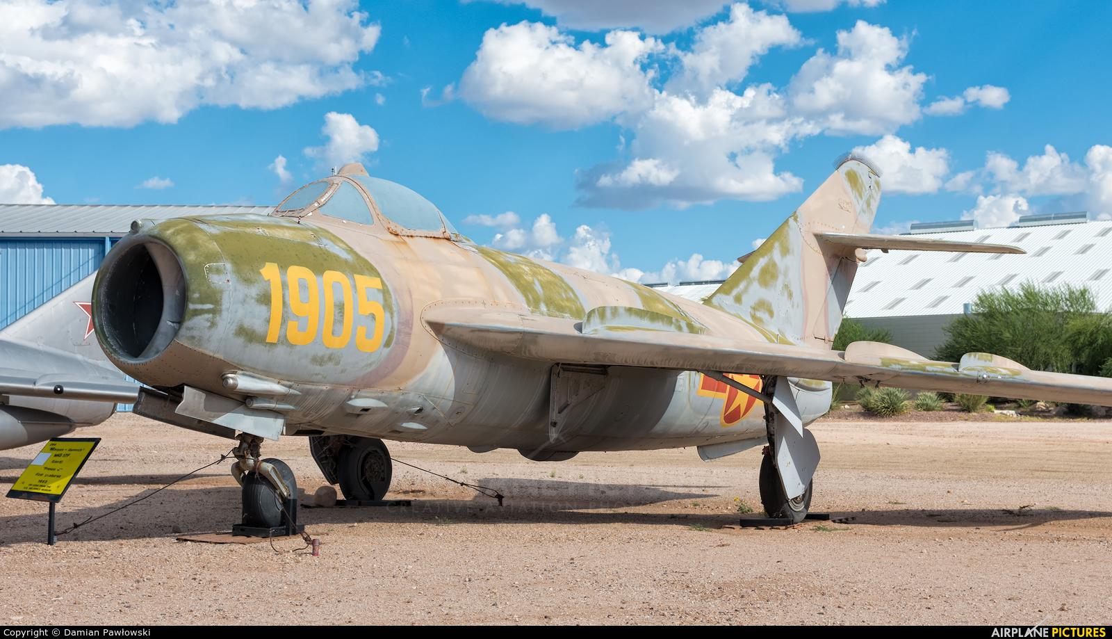 Vietnam (North) - Air Force 1905 aircraft at Tucson - Pima Air & Space Museum
