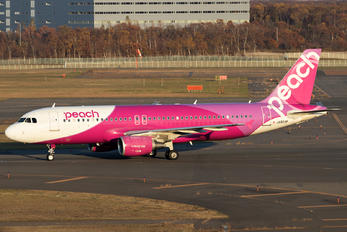 JA803P - Peach Aviation Airbus A320