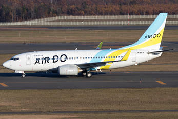 JA15AN - Air Do - Hokkaido International Airlines Boeing 737-700