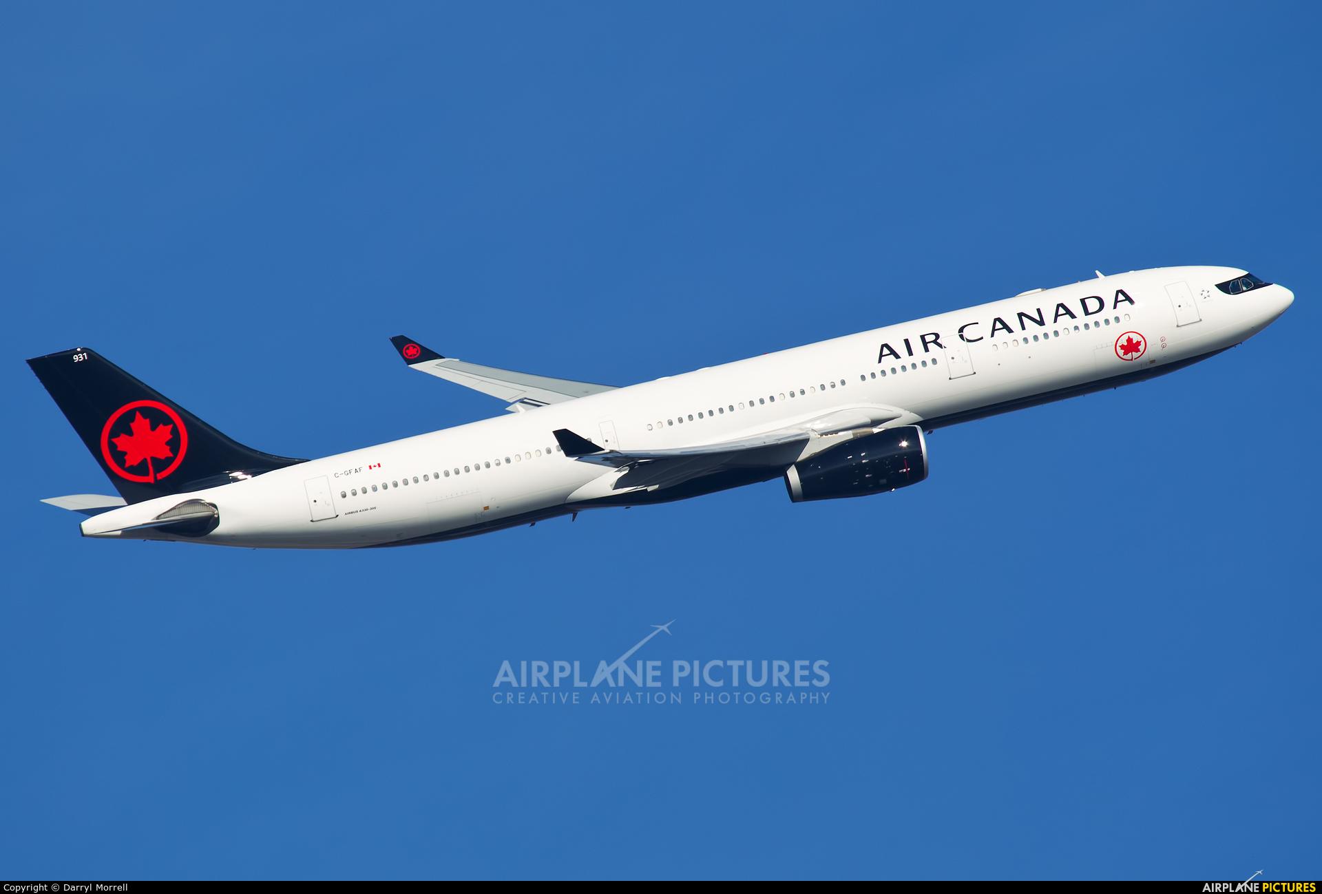 Air Canada C-GFAF aircraft at London - Heathrow