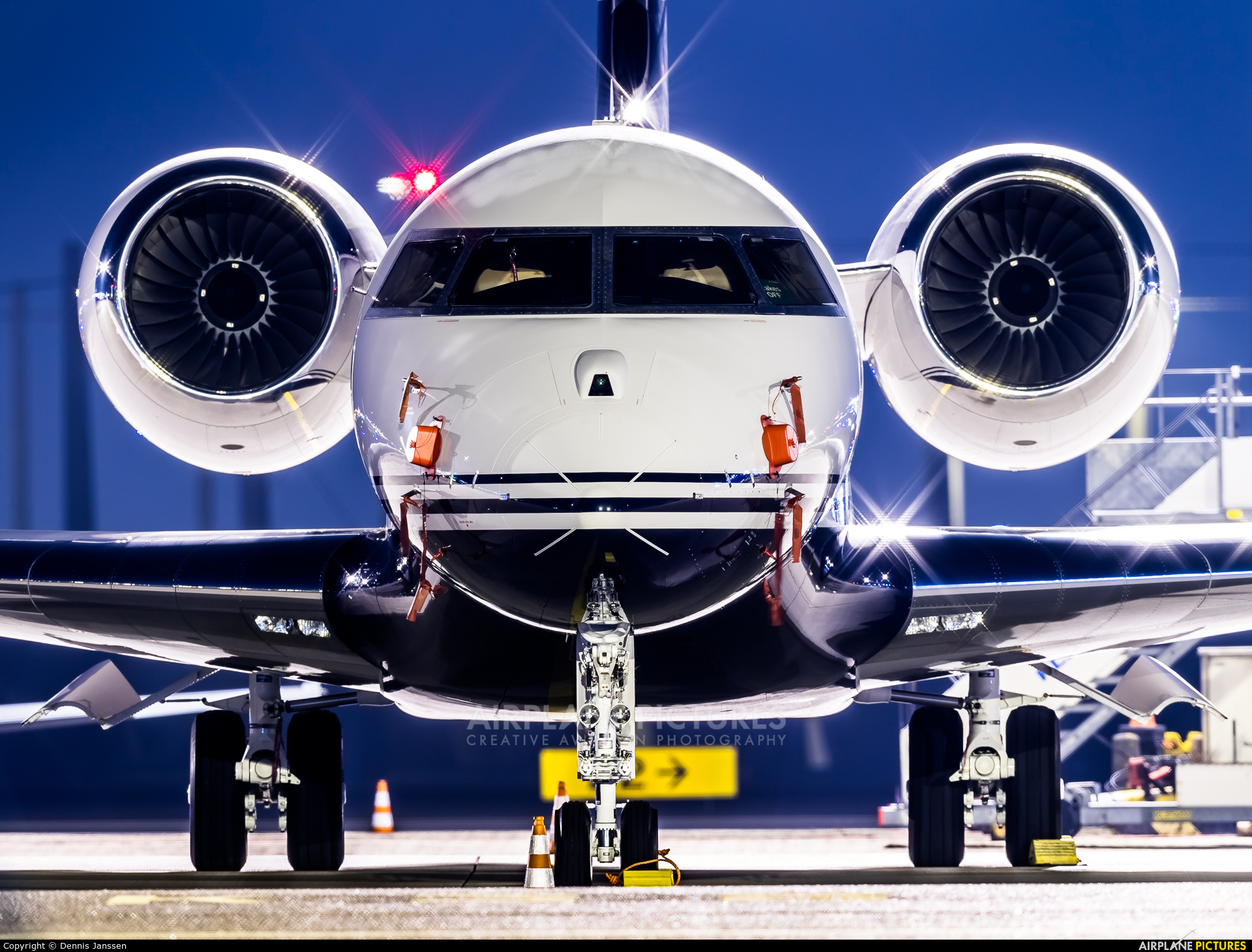 Private VH-LEP aircraft at Amsterdam - Schiphol
