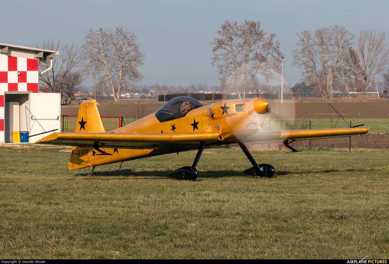 Private F-GVFF aircraft at Legnago