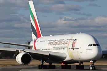 A6-EUZ - Emirates Airlines Airbus A380