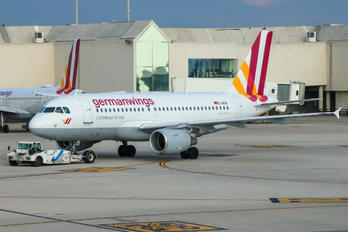 D-AKNI - Germanwings Airbus A319