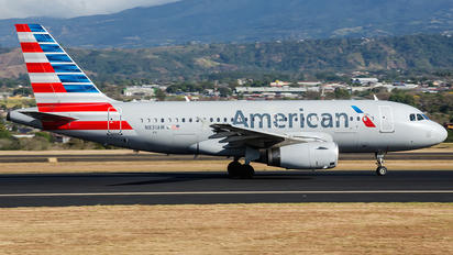 N831AW - American Airlines Airbus A319