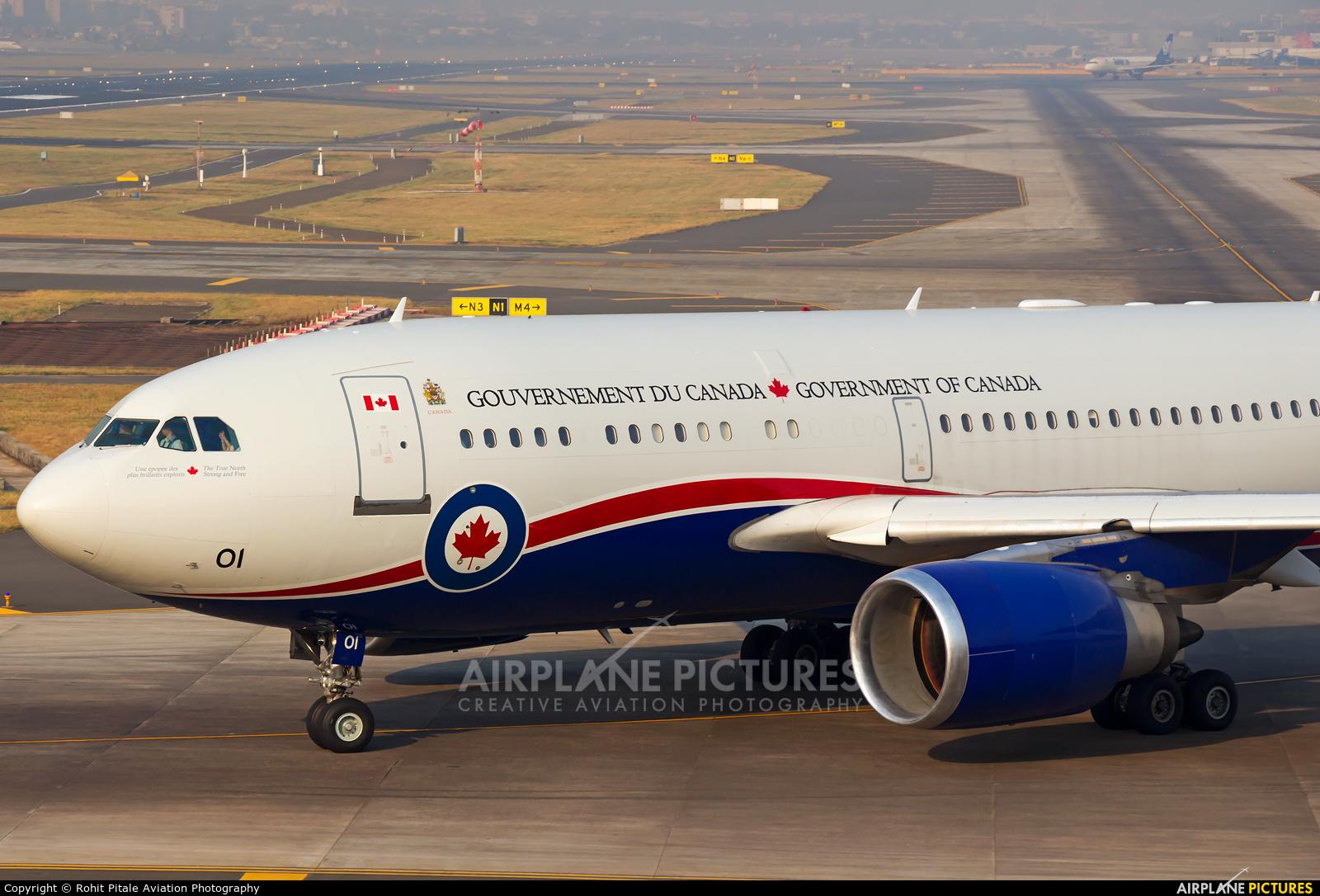 Canada - Air Force 15001 aircraft at Mumbai - Chhatrapati Shivaji Intl