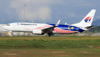 9M-MXS - Malaysia Airlines Boeing 737-800