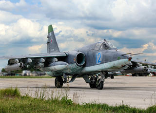 RF-92258 - Russia - Air Force Sukhoi Su-25SM