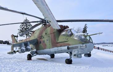 11 - Stalin Line Museum Mil Mi-24P