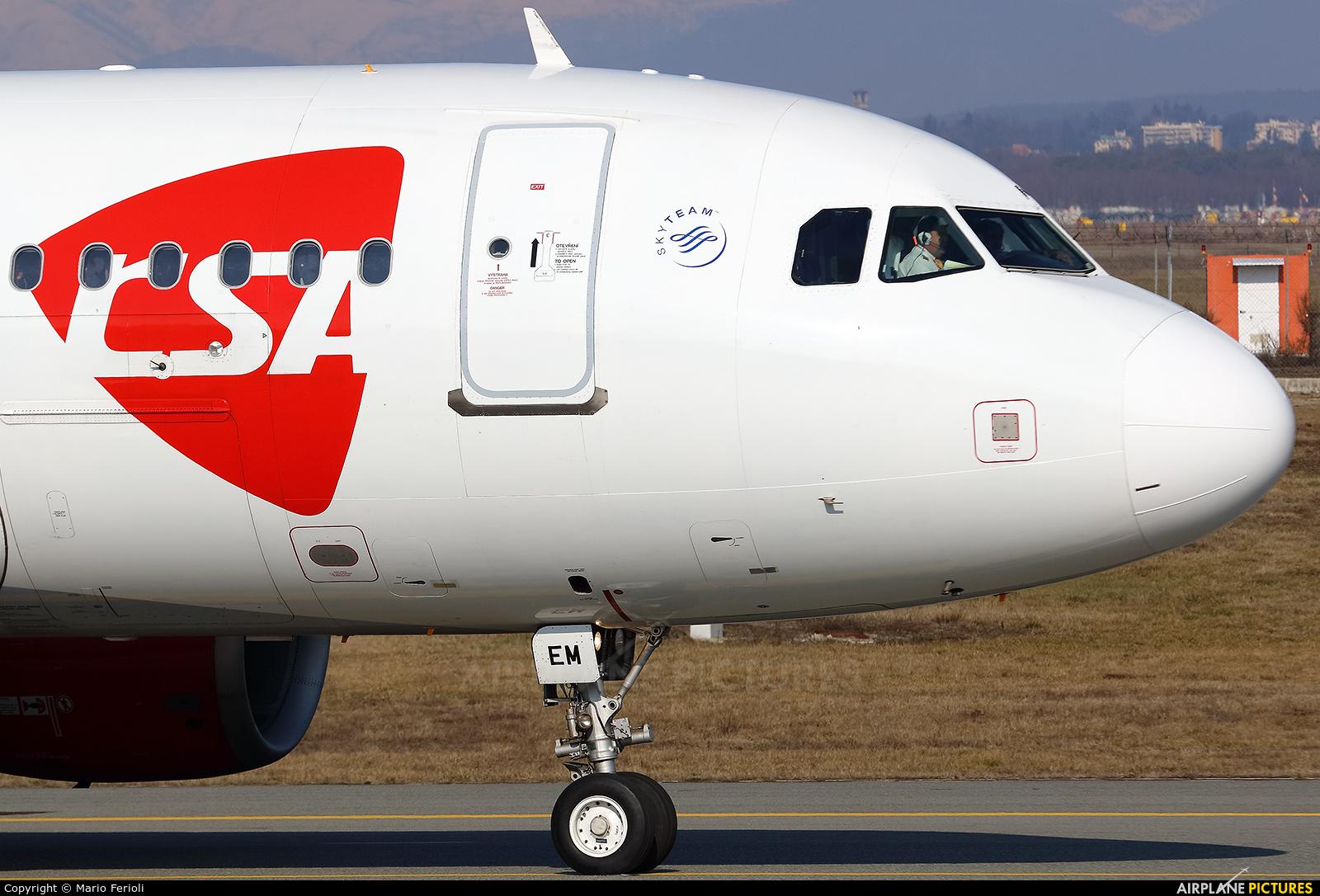 CSA - Czech Airlines OK-NEM aircraft at Milan - Malpensa