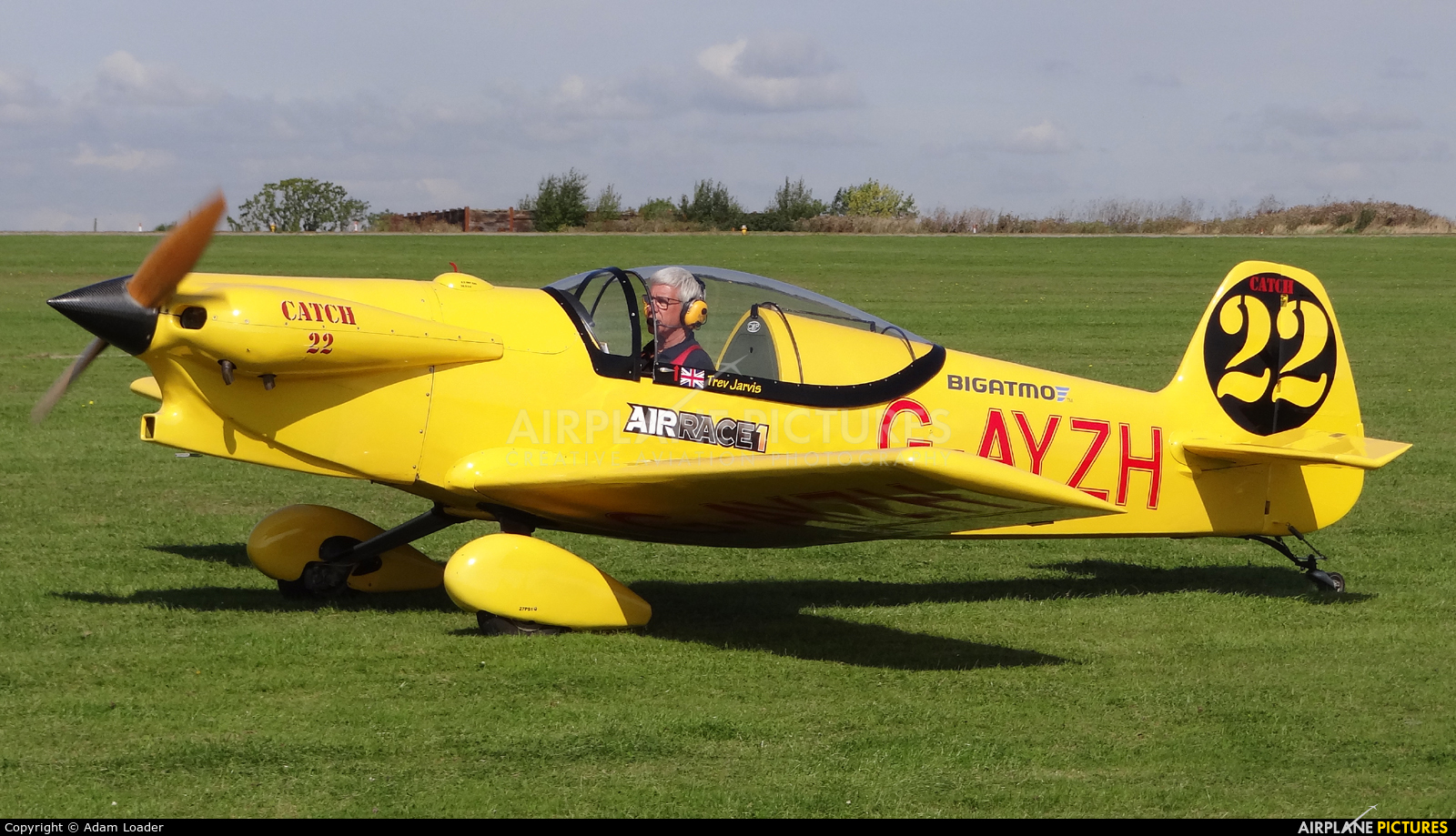 Private G-AYZH aircraft at Northampton / Sywell