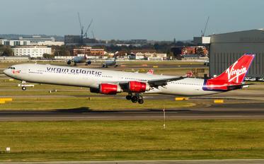 G-VWIN - Virgin Atlantic Airbus A340-600