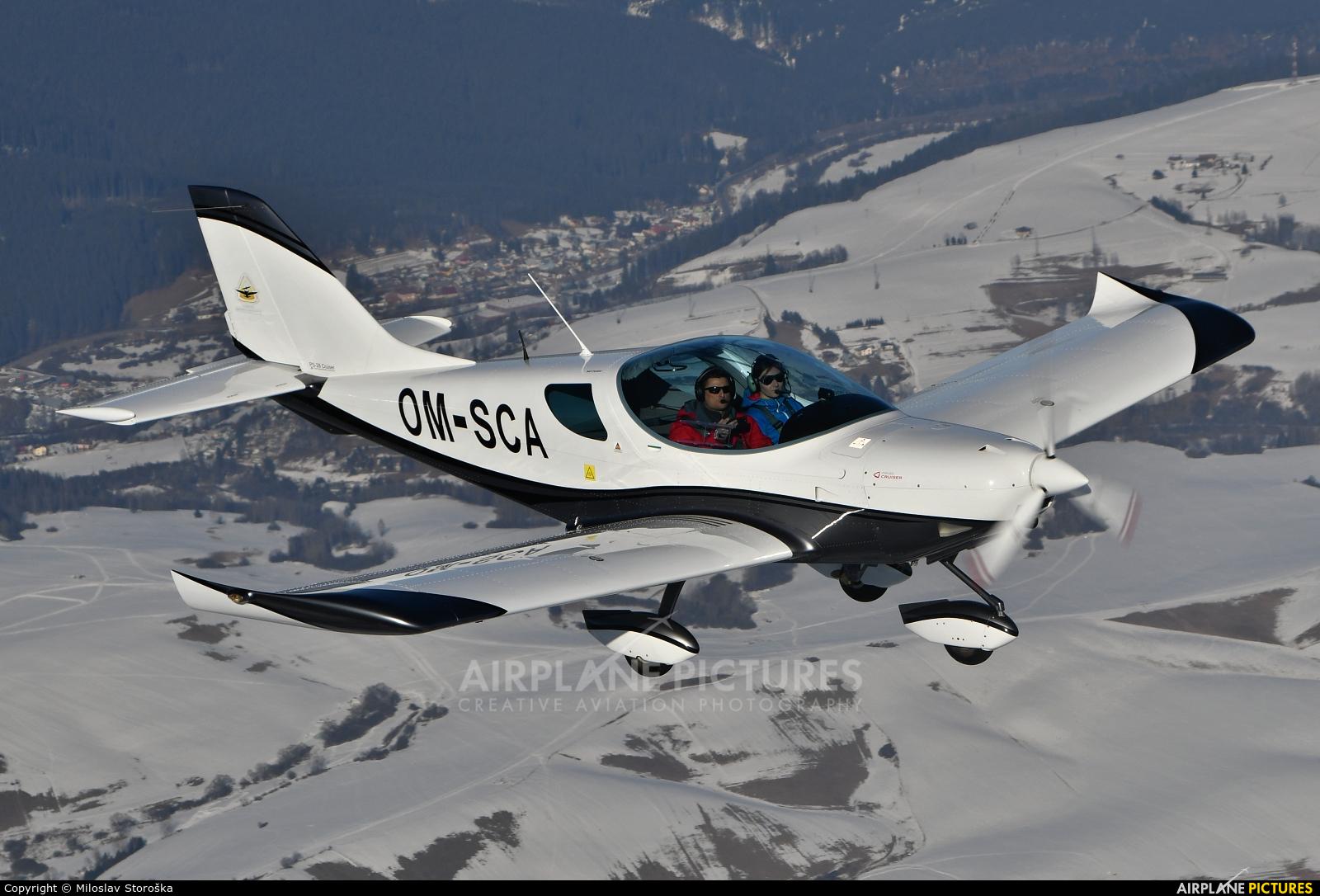 Flying Service School Banska Bystrica OM-SCA aircraft at In Flight - Slovakia