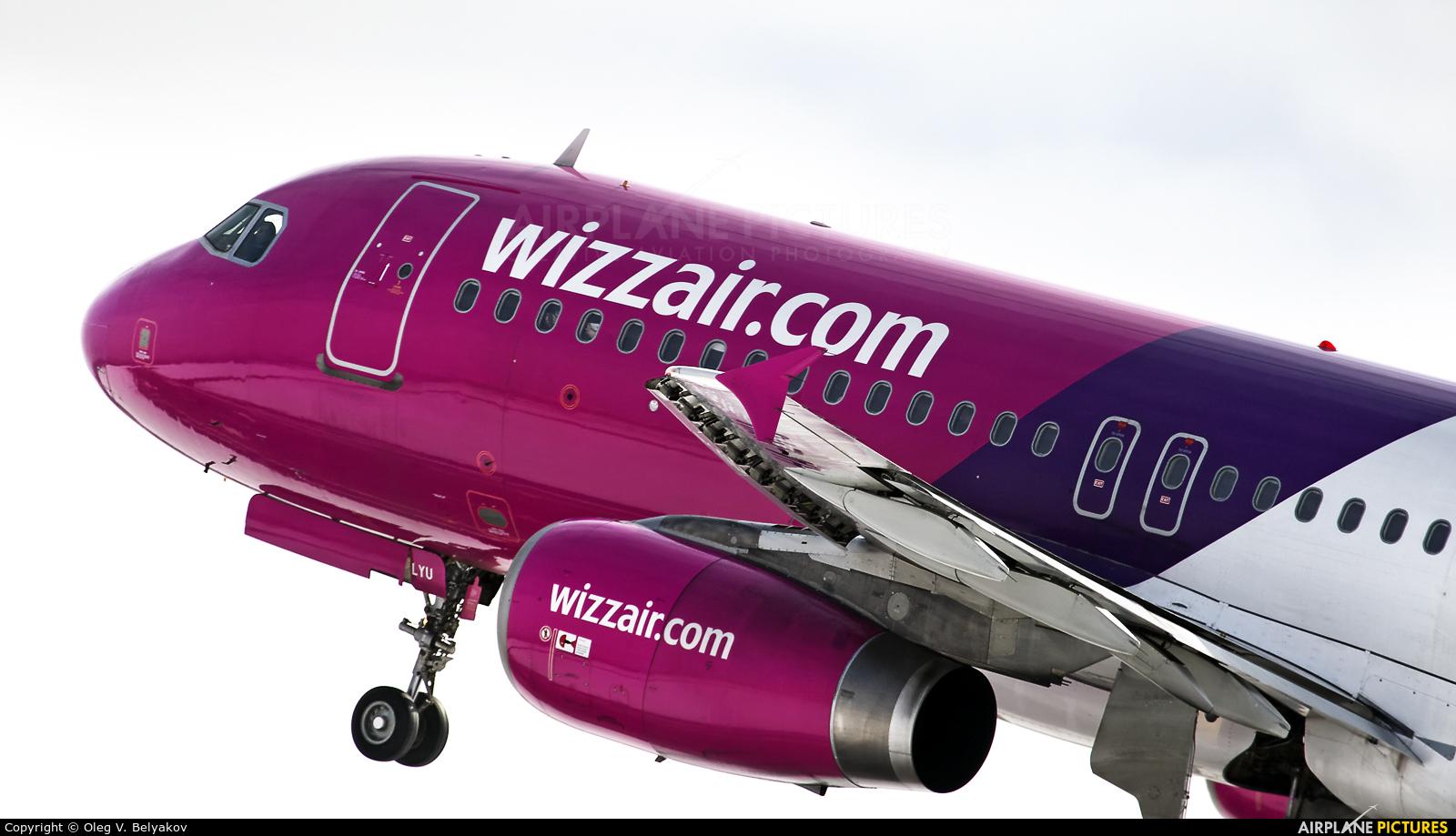Wizz Air HA-LYU aircraft at Kyiv - Zhulyany