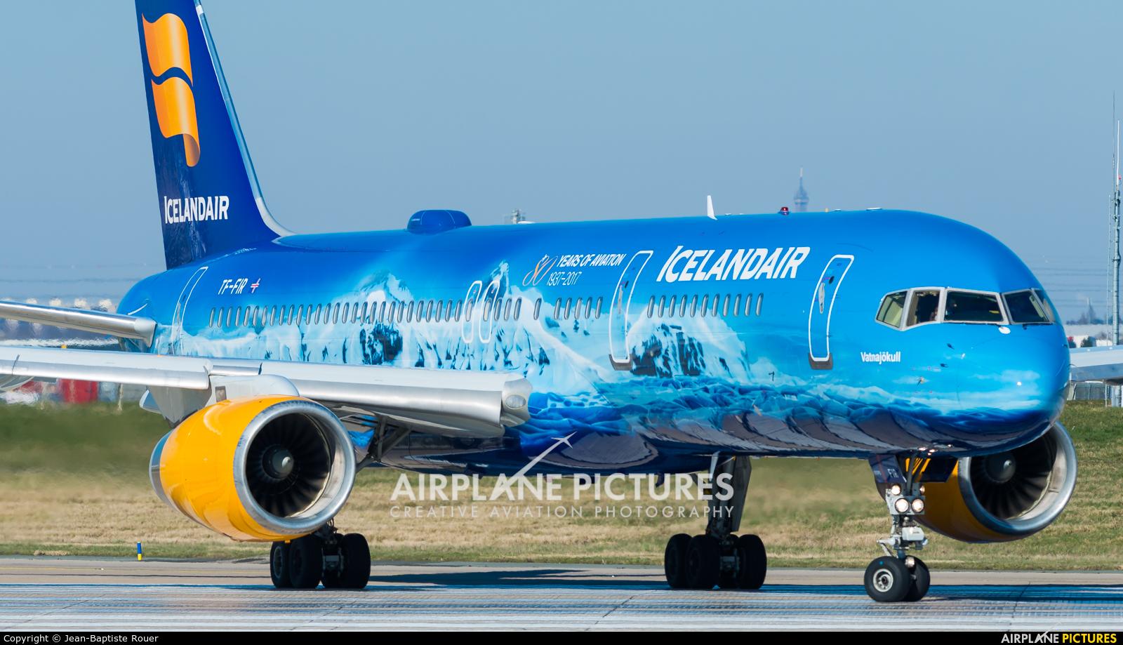 Icelandair TF-FIR aircraft at Paris - Orly