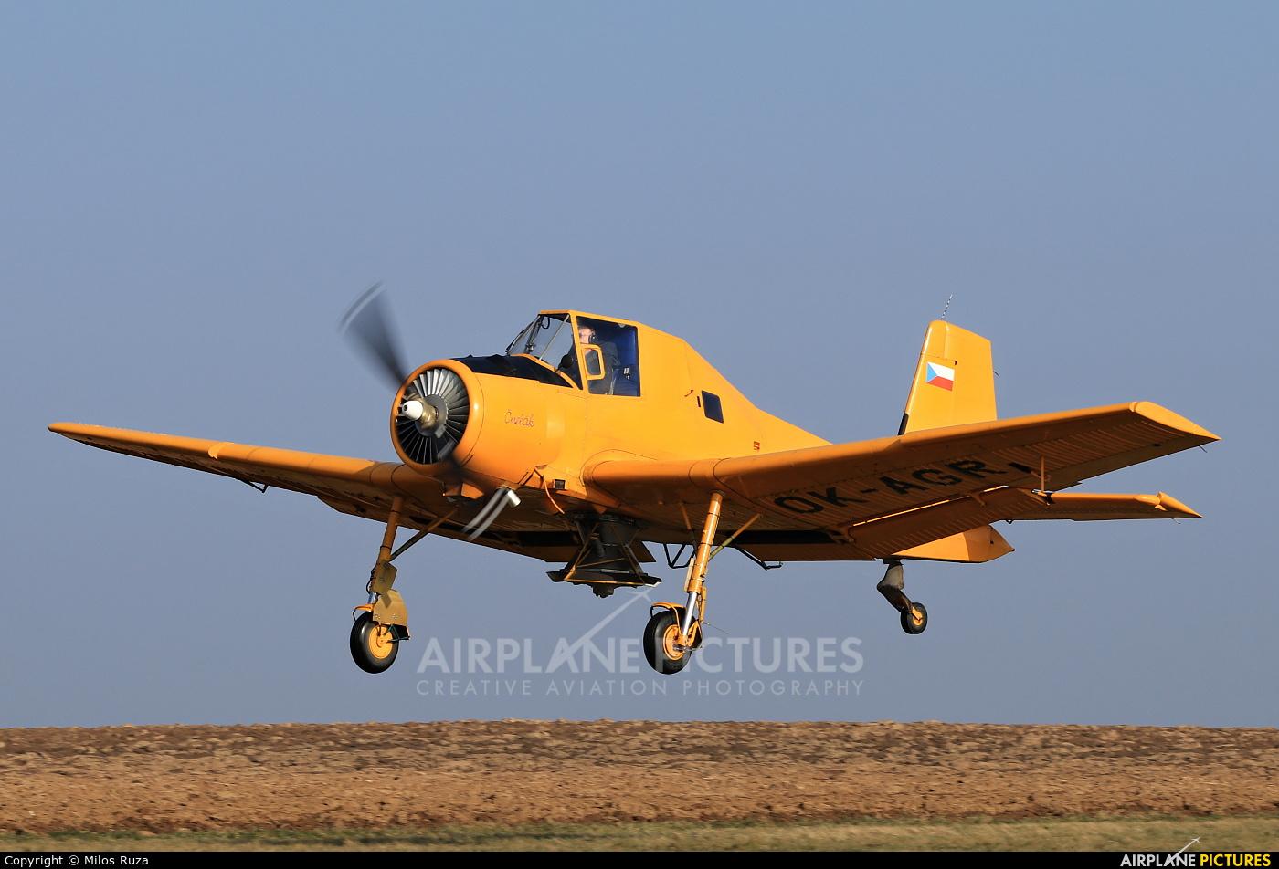 Agroair OK-AGR aircraft at Off Airport - Czech Republic