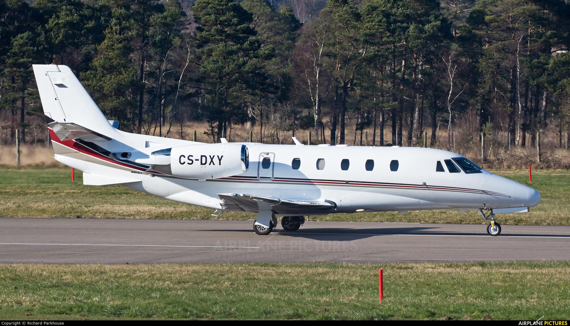 NetJets Europe (Portugal) CS-DXY aircraft at Farnborough