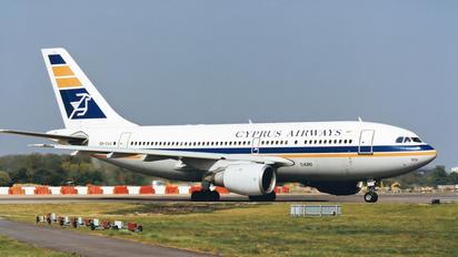 5B-DAQ - Cyprus Airways Airbus A310