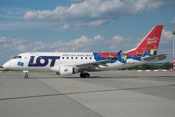 SP-LDF - LOT - Polish Airlines Embraer ERJ-170 (170-100)
