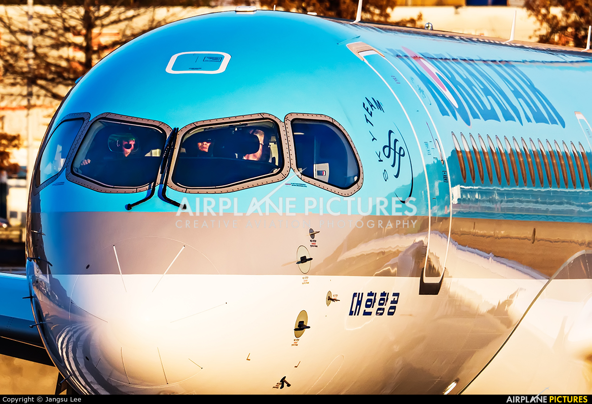 Korean Air HL8093 aircraft at Ulsan