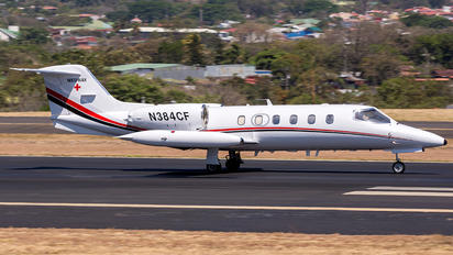 N384CF - Private Learjet 35