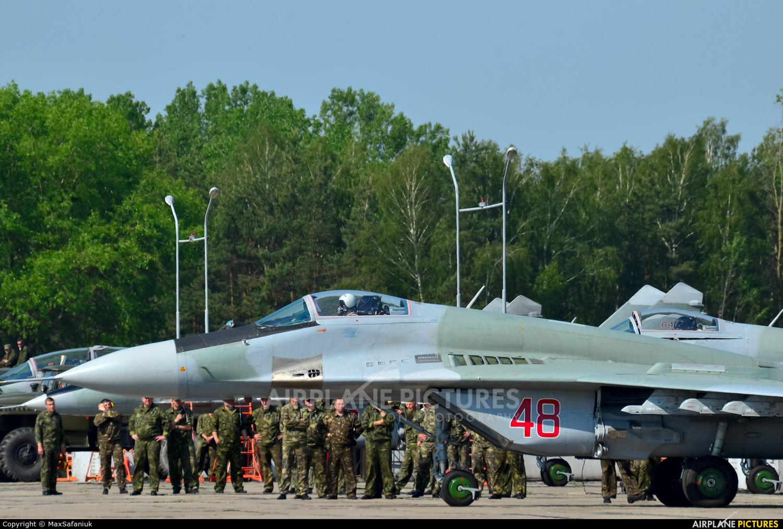 Belarus - Air Force 48 aircraft at Baranovichi
