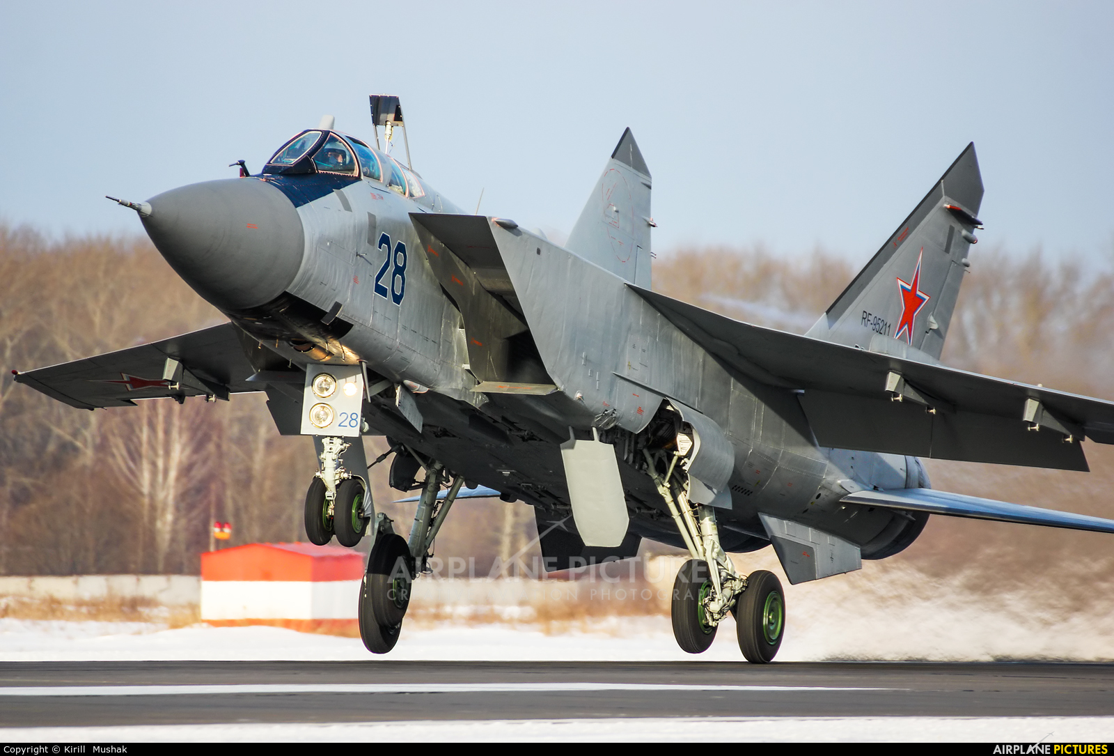 Russia - Air Force RF-95211 aircraft at Undisclosed Location
