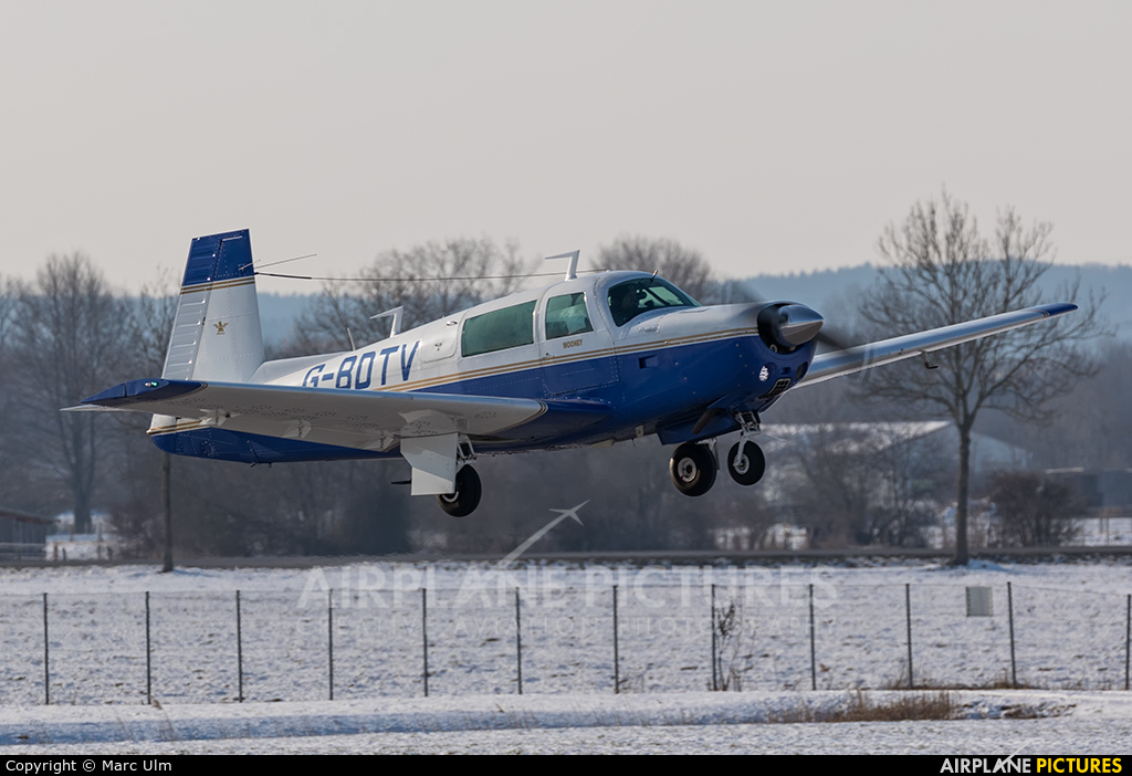 Private G-BDTV aircraft at Augsburg