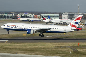 G-RAES - British Airways Boeing 777-200