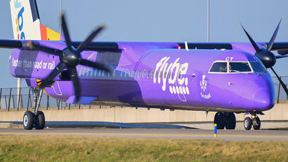 G-JECY - Flybe de Havilland Canada DHC-8-400Q / Bombardier Q400