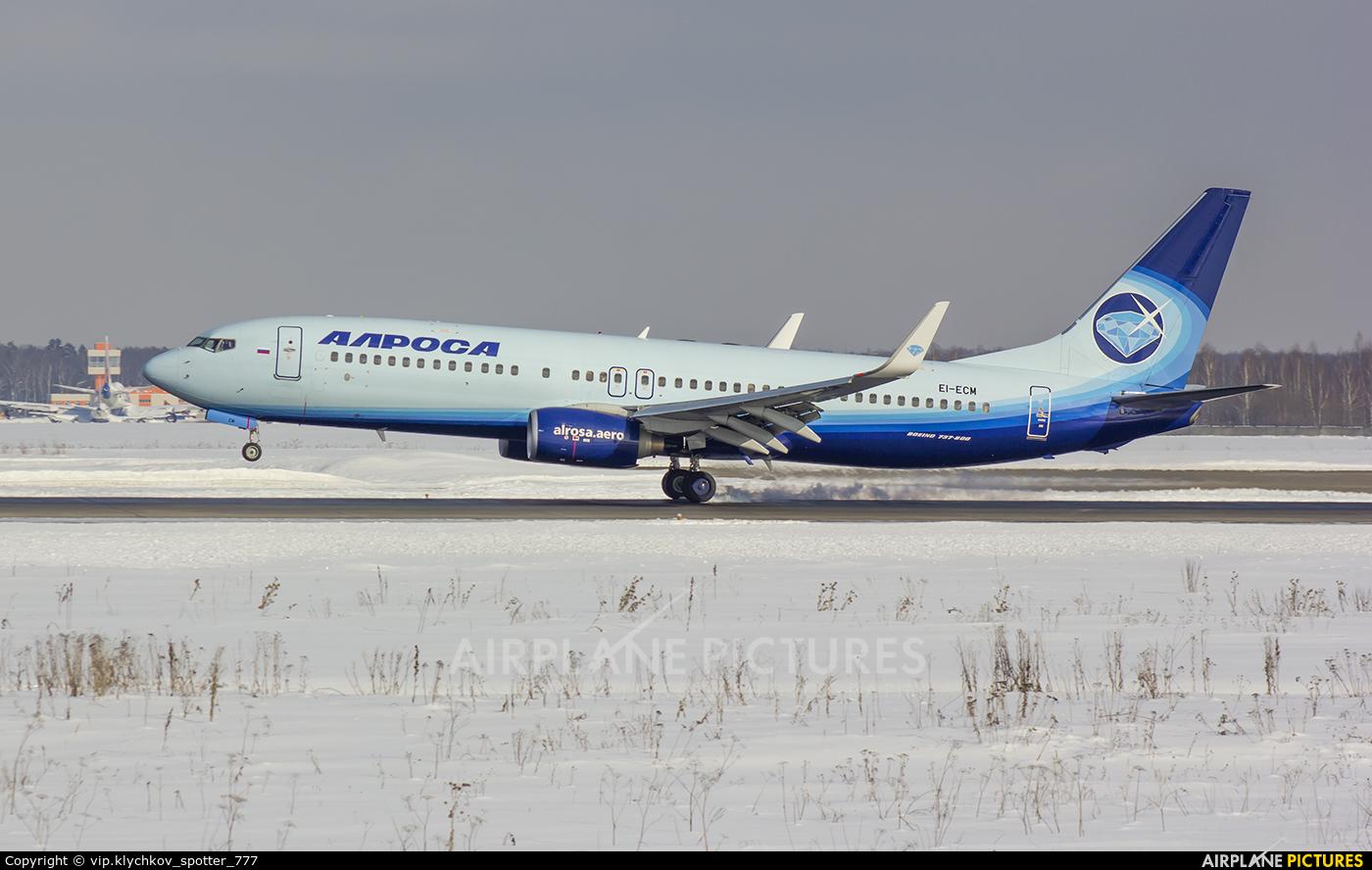 Alrosa EI-ECM aircraft at Moscow - Domodedovo
