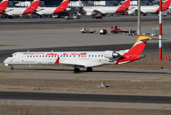 EC-MNQ - Air Nostrum - Iberia Regional Bombardier CRJ-1000NextGen