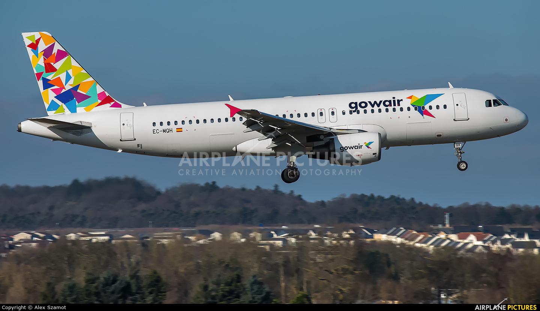 Gowair Airlines EC-MQH aircraft at Edinburgh