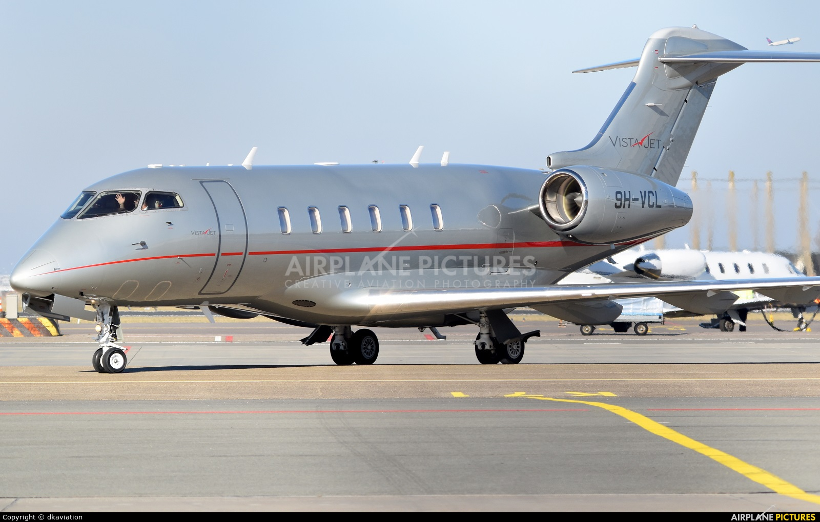 Vistajet 9H-VCL aircraft at Amsterdam - Schiphol