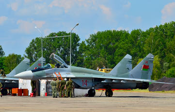 14 - Belarus - Air Force Mikoyan-Gurevich MiG-29